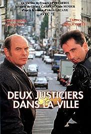 Deux justiciers dans la ville Poster