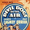 James Cagney, Pat O'Brien, and Margaret Lindsay in Devil Dogs of the Air (1935)