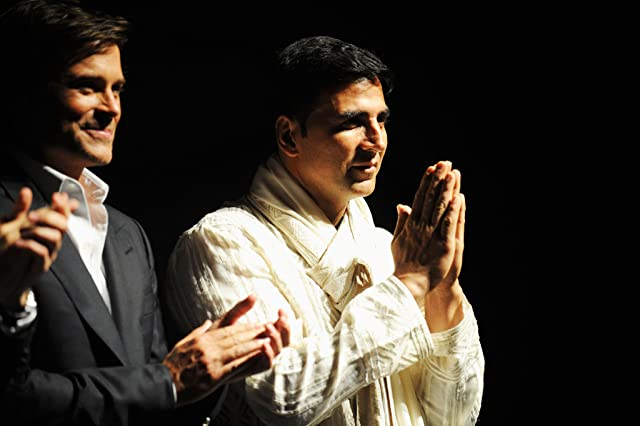 Rob Lowe and Akshay Kumar at an event for Breakaway (2011)