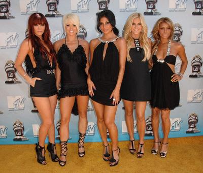 Nicole Scherzinger and The Pussycat Dolls at 2008 MTV Movie Awards (2008)