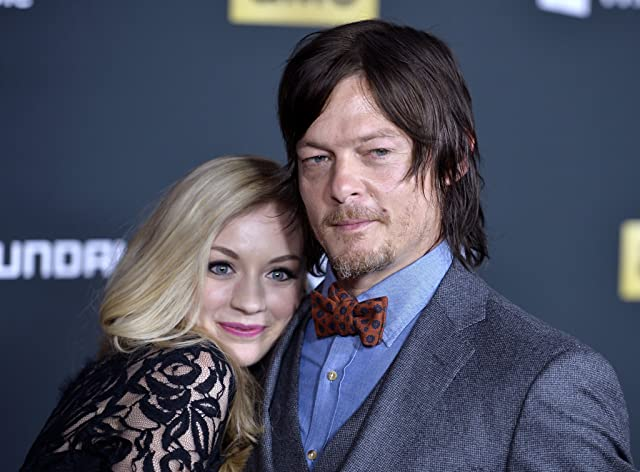 Norman Reedus and Emily Kinney at an event for The Walking Dead (2010)