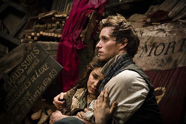 Eddie Redmayne and Samantha Barks in Les Misérables (2012)