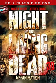 Night of the Living Dead 3D: Re-Animation Poster