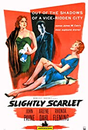 Slightly Scarlet (1956) Poster - Movie Forum, Cast, Reviews