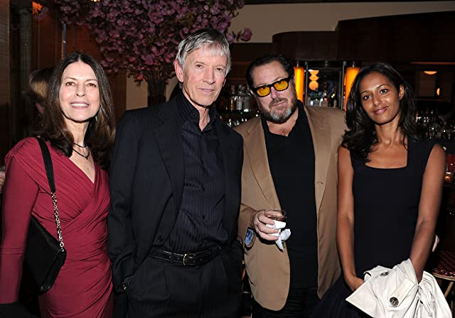 Scott Glenn, Julian Schnabel, and Rula Jebreal