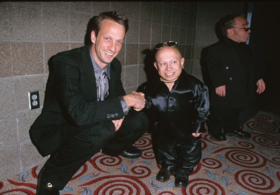 Tony Hawk and Verne Troyer
