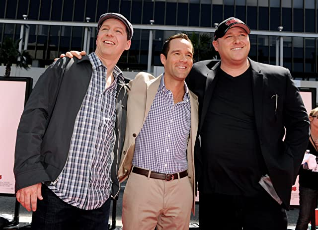 Sean Hayes, Chris Diamantopoulos, and Will Sasso at The Three Stooges (2012)