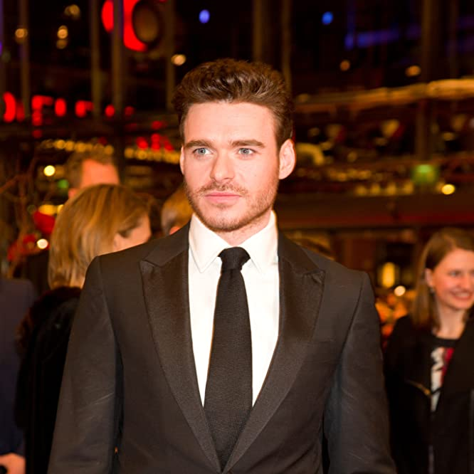 Richard Madden at an event for Cinderella (2015)