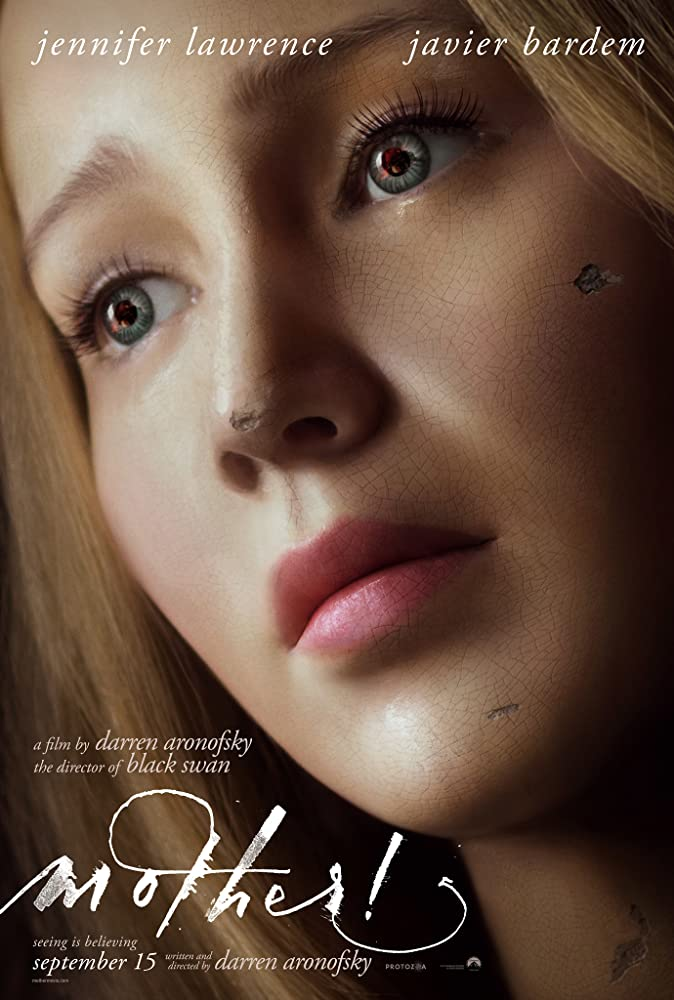 mother! poster jennifer lawrence