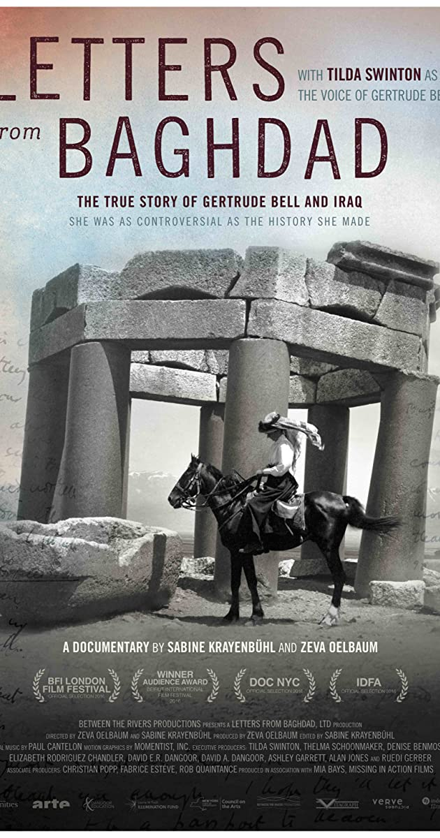 Letters from Baghdad 2016 IMDb