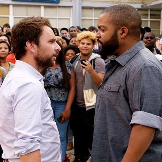 Ice Cube and Charlie Day in Fist Fight (2017)