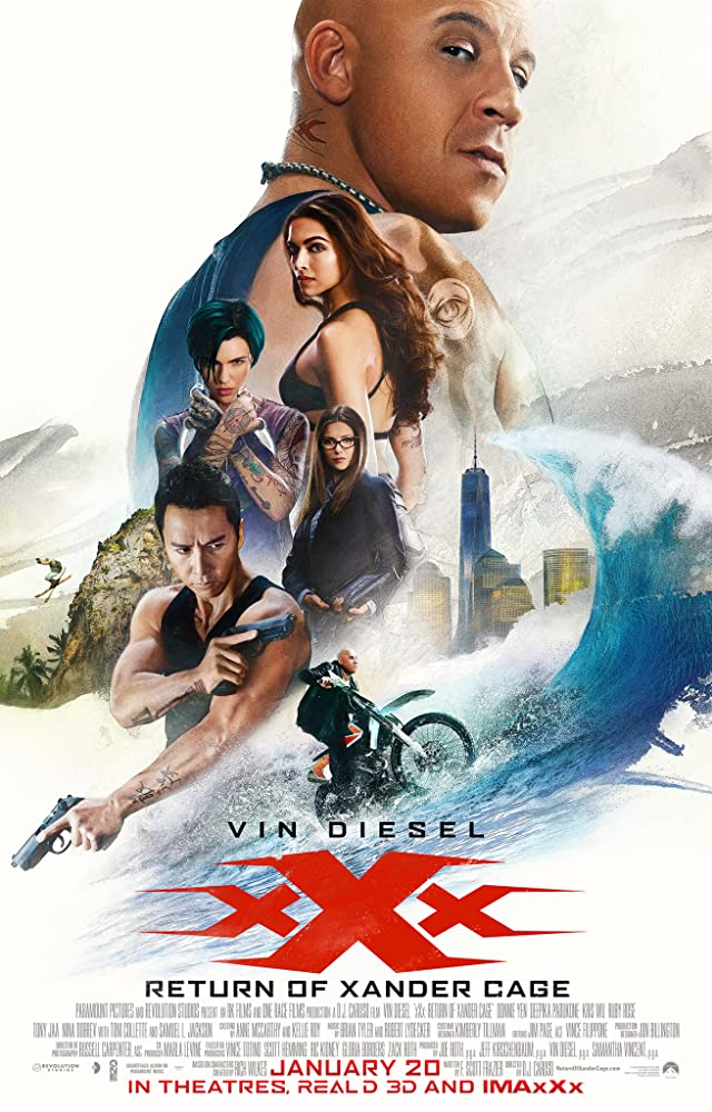 xXx Return of Xander Cage 2017 CAM Hindi Dubbed 300MB