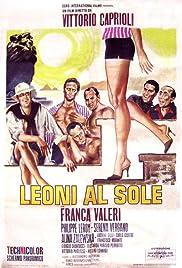 Leoni al sole Poster