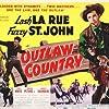 Lash La Rue and Al St. John in Outlaw Country (1949)