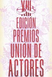 XIII premios unión de actores Poster