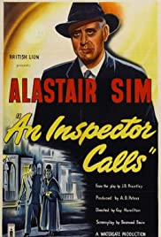 An Inspector Calls (1954) Poster - Movie Forum, Cast, Reviews