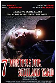 Seven Murders for Scotland Yard (1972) Poster - Movie Forum, Cast, Reviews