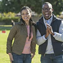 Sterling K. Brown and Susan Kelechi Watson in This Is Us (2016)