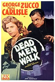 Dead Men Walk (1943) Poster - Movie Forum, Cast, Reviews