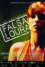Falsa Loura Poster