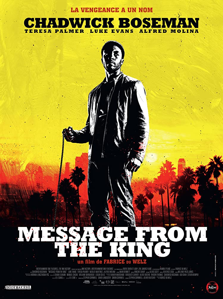 Chadwick Boseman in Message from the King (2016)