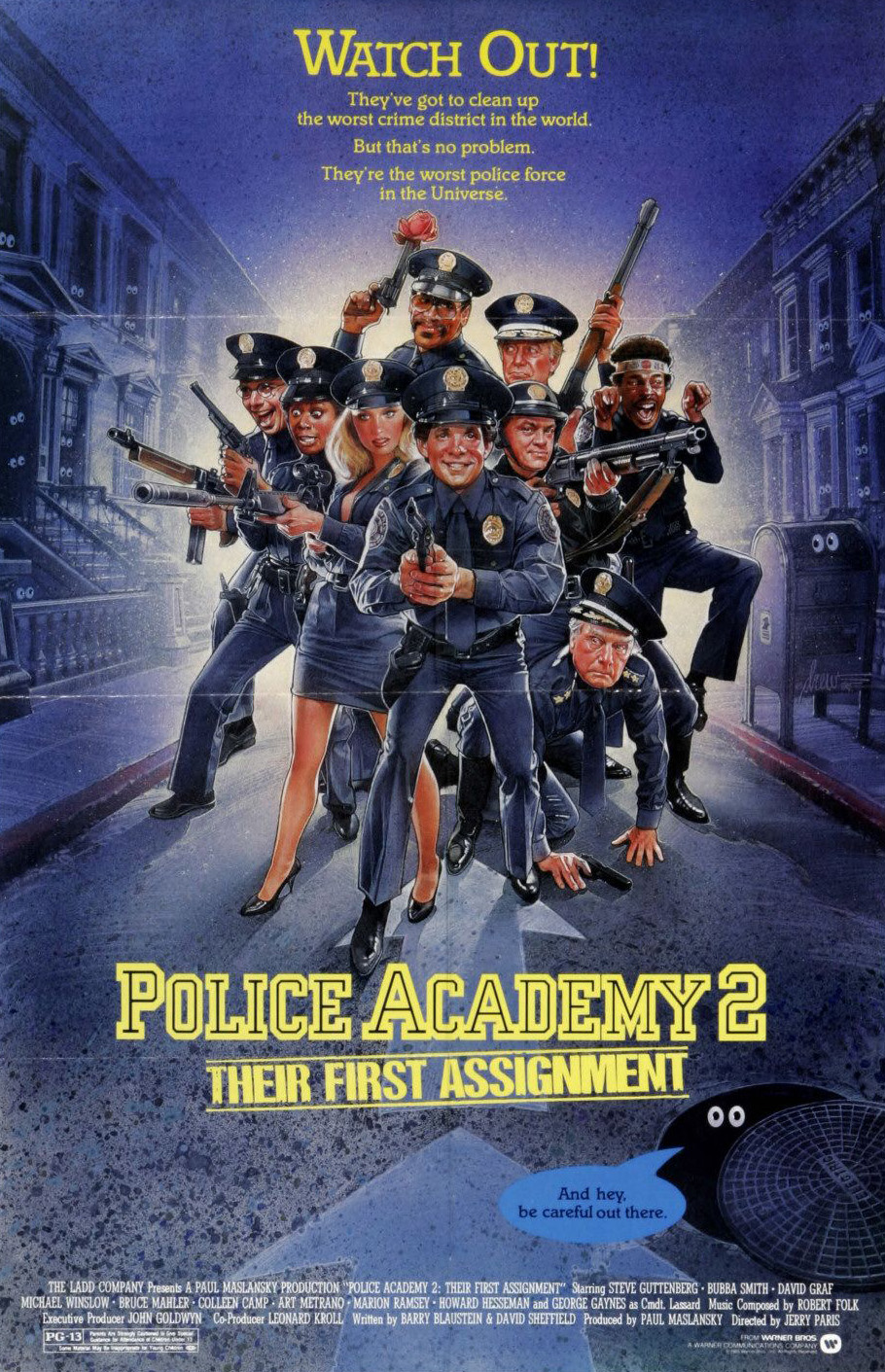 Image Police Academy 2: Their First Assignment Watch Full Movie Free Online