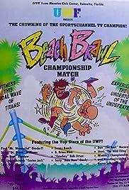 UWF Beach Brawl Poster