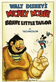 Brave Little Tailor Poster