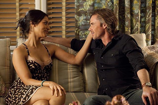 Sam Trammell and Janina Gavankar in True Blood (2008)