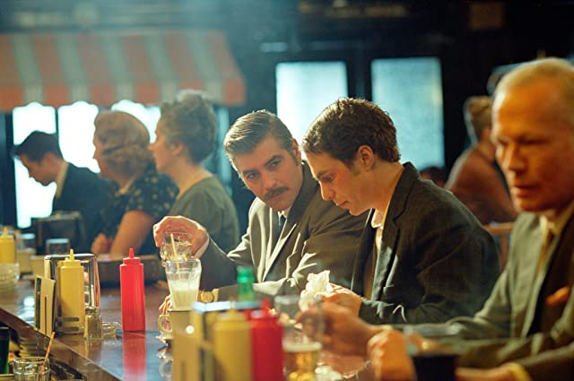 George Clooney and Sam Rockwell in Confessions of a Dangerous Mind (2002)