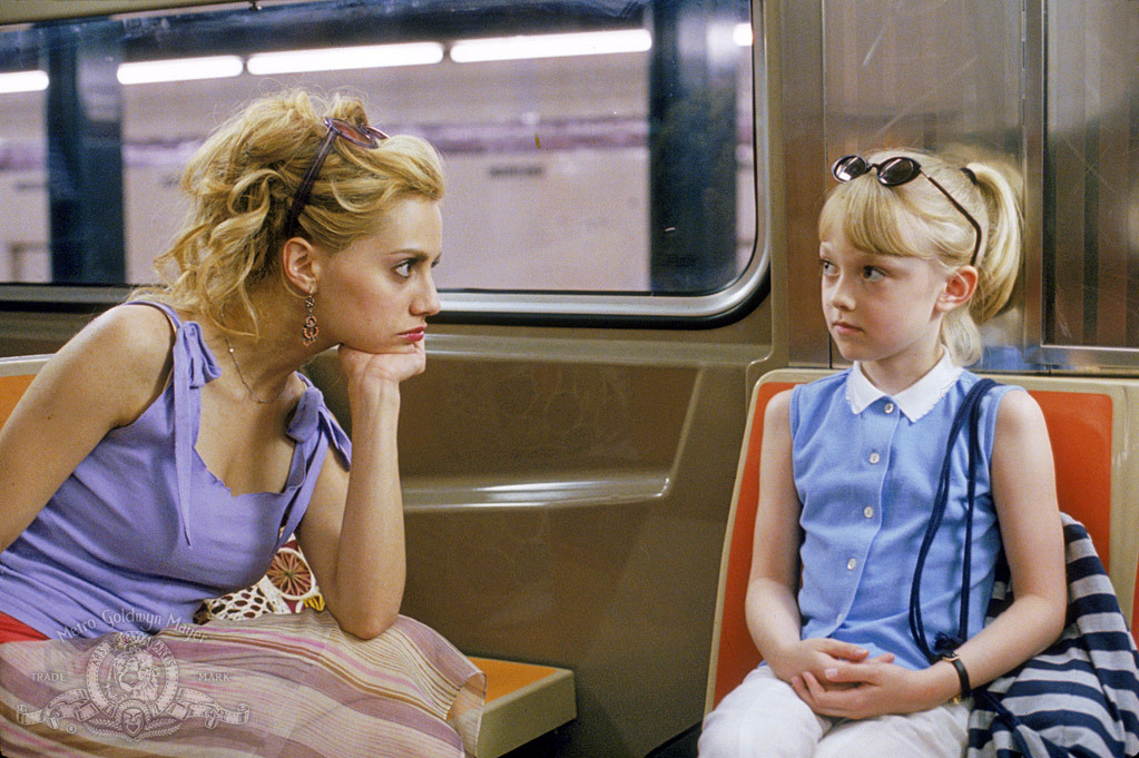 Brittany Murphy and Dakota Fanning in Uptown Girls (2003)