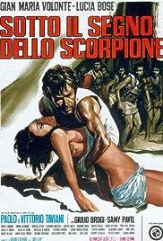 Sotto il segno dello scorpione Poster