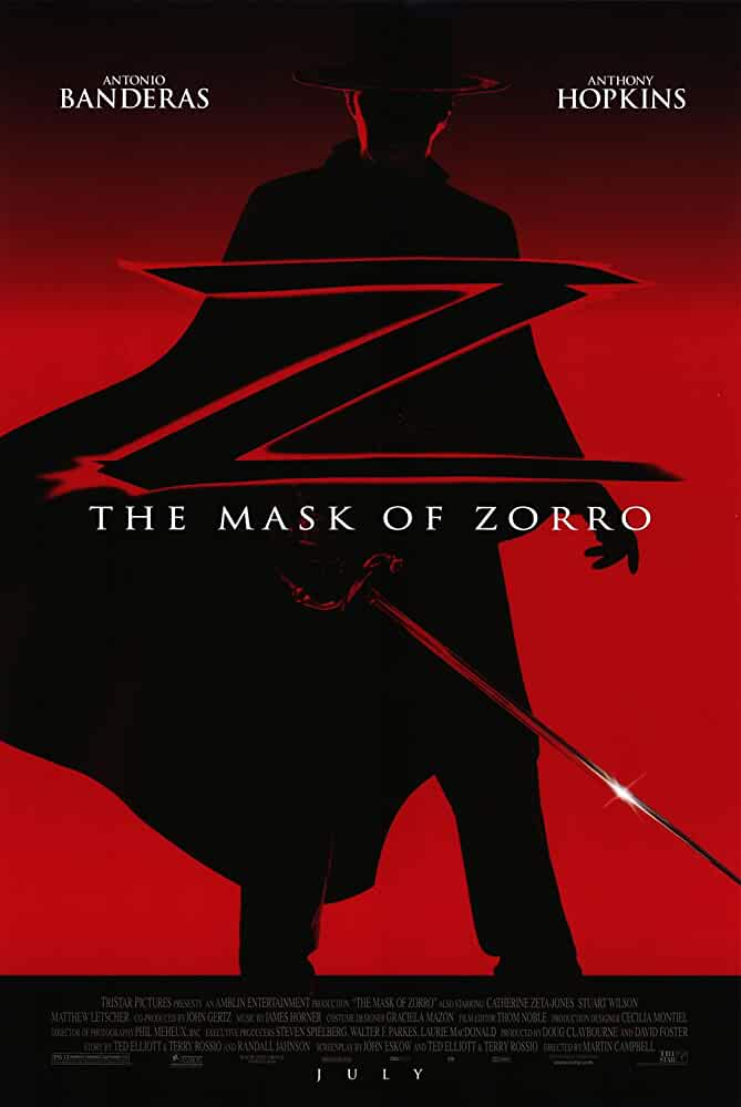 The Mask Of Zorro 1998 Hindi Dual Audio 720p BluRay full movie watch online freee download at movies365.ws