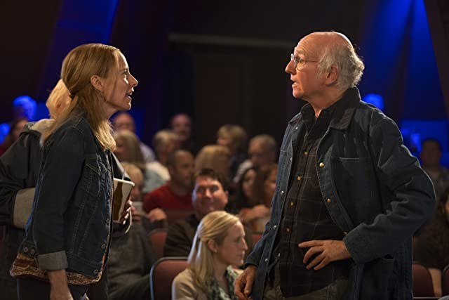 Larry David and Amy Ryan in Clear History (2013)