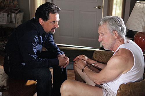 Joe Mantegna and Daniel J. Travanti in Criminal Minds (2005)