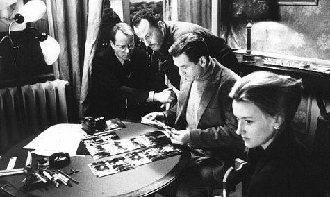 Robert De Niro, Jean Reno, Natascha McElhone, and Stellan Skarsgård in Ronin (1998)