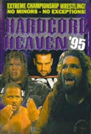 ECW Hardcore Heaven 1995 Poster