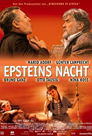 Epsteins Nacht(2002) Poster - Movie Forum, Cast, Reviews
