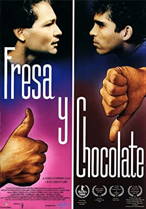 Strawberry and Chocolate Pelicula Poster