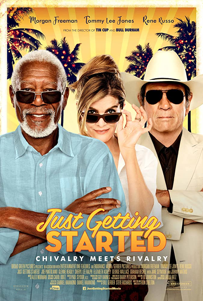 movie poster for Just Getting Started