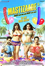 Mastizaade 2016 Hindi 720p 1.5GB DvDRip DD 5.1 MSubs MKV
