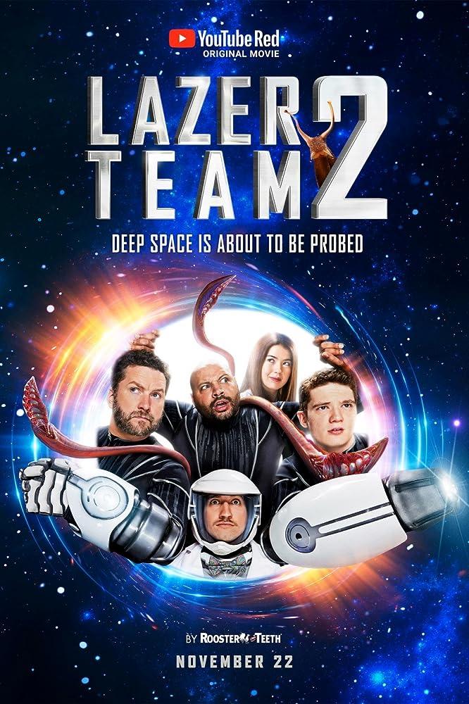 دانلود زیرنویس فارسی فیلم Lazer Team 2 2018