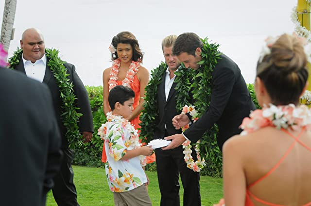 Scott Caan, Grace Park, Alex O'Loughlin, and Taylor Wily in Hawaii Five-0 (2010)