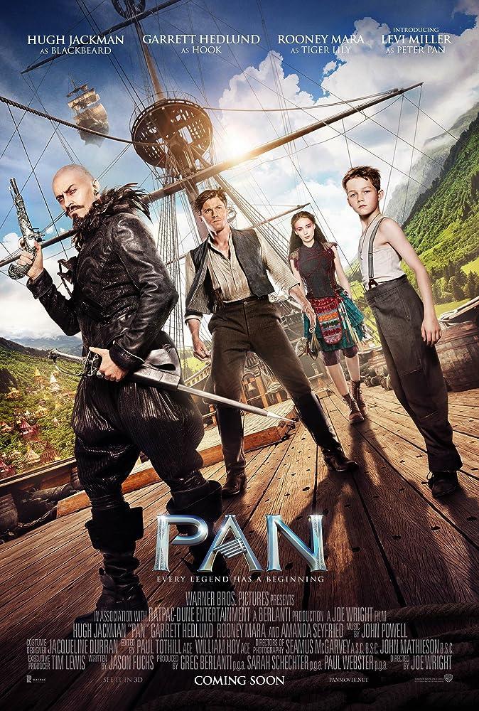 Pan 2015 1080p HEVC BluRay 300MB Movies