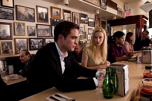 Sarah Gadon and Robert Pattinson in Cosmopolis (2012)