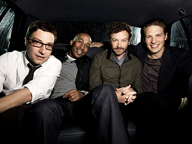 Still of Danny Masterson, Adam Busch, James Lesure and Michael Cassidy in Men at Work