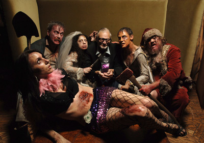 George A. Romero at Land of the Dead (2005)