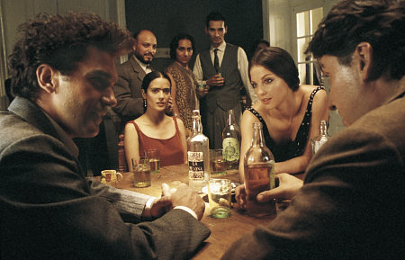 Antonio Banderas, Salma Hayek, Ashley Judd, and Alfred Molina in Frida (2002)