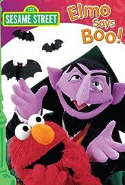 Elmo Says Boo Poster