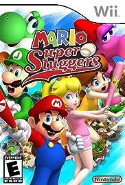 Mario Super Sluggers Poster